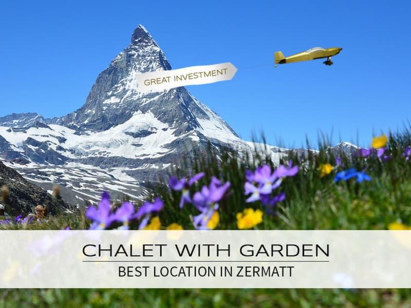 Chalet mit Garten an bester Lage (Zweitwohnsitz) (1)
