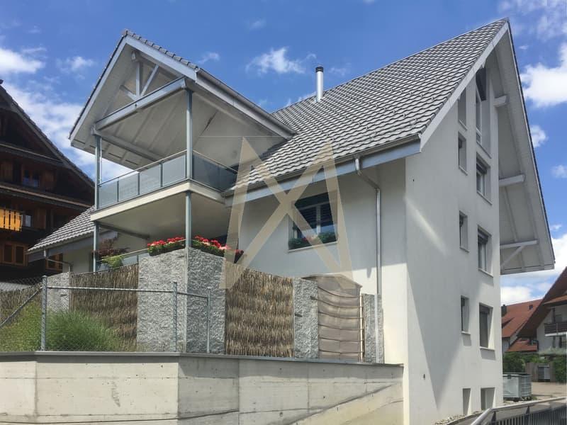 Gartenwohnung modern und viel Comfort