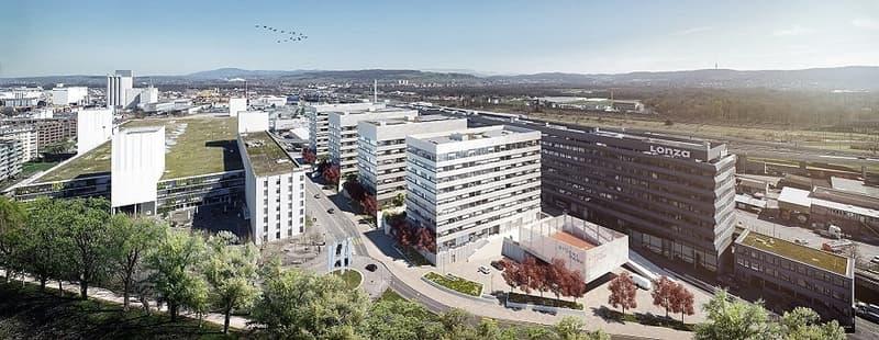 Büroflächen mitten im aufstrebenden, neuen Wirtschaftsstandort Stücki Park (1)