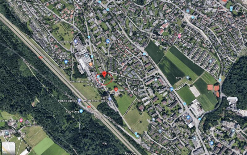 Parkplatz an Zentraler Lage in Horgen
