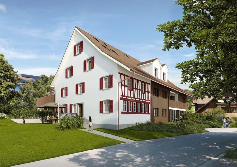 """Harmonie der Gegensätze: Neubauwohnungen """"Casale"""" in Nürensdorf"""