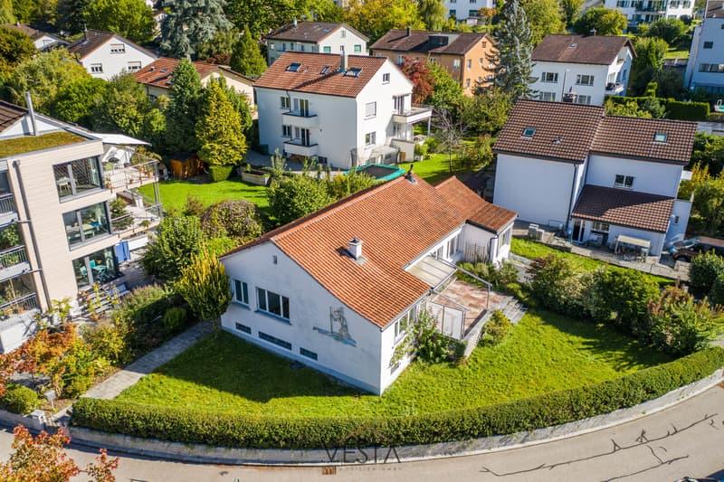 Freistehendes EFH mit grossem Garten in Luzern
