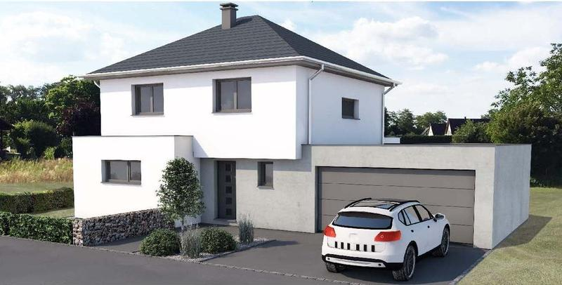 IN LEYMEN - LAND 600m² - TRAMLINIE 10 - HAUS 150m² - GARAGE (1)