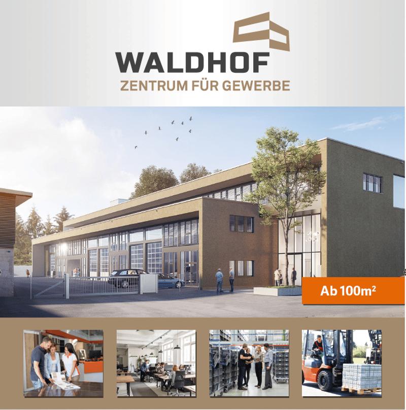 WALDHOF - Zentrum für Gewerbe ***60% vermietet*** (2)