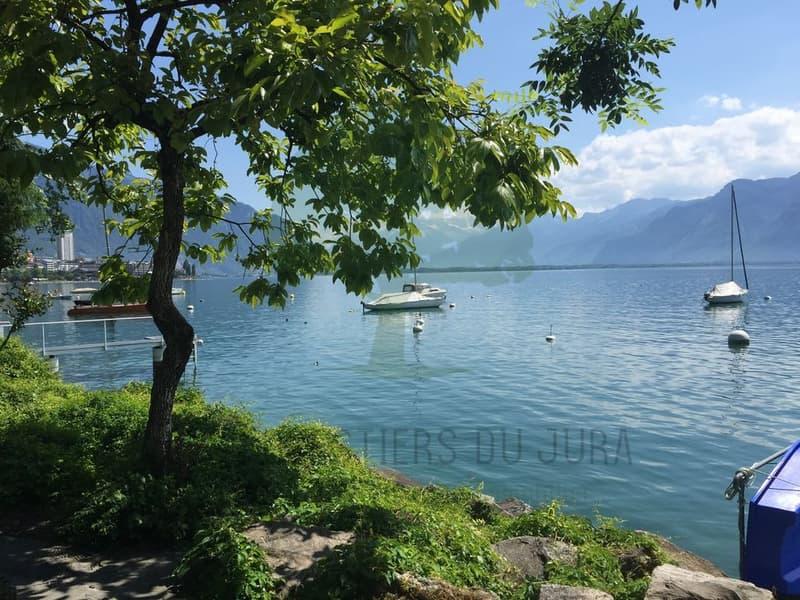 Ponton privé à Montreux