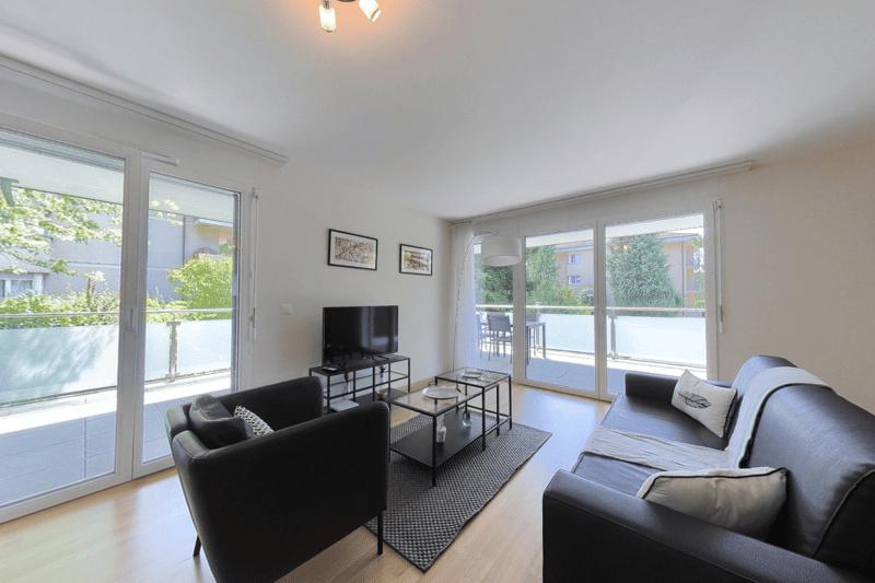 Appartements meublés 3.5p - Saint-Sulpice