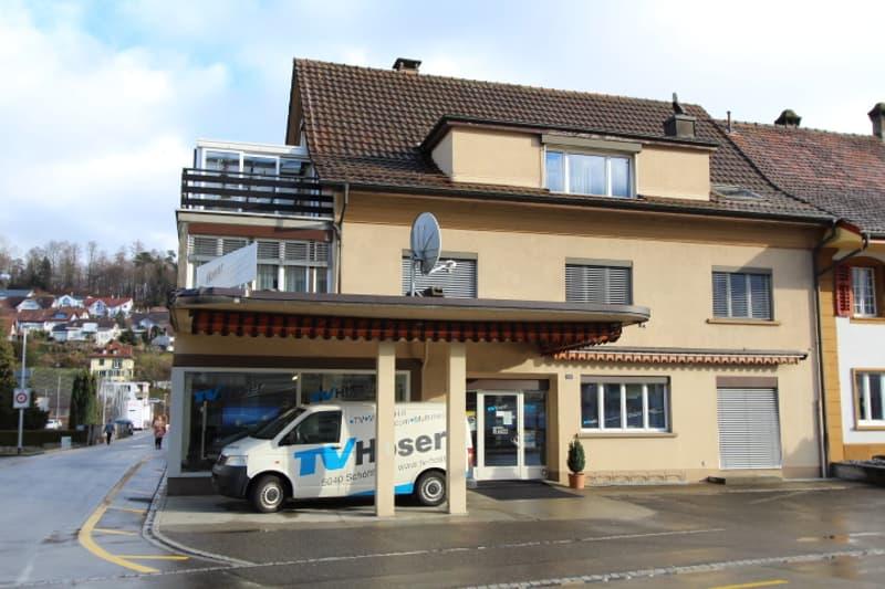 5,5-Zi.-Whg mit Wintergarten u. Schwedeofen, frisch renoviert im Zentrum von Schöftland AG