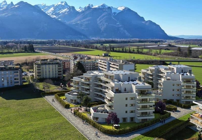 Appartement neuf de 2.5 pièces avec jardin de 76m2 - LOT 3B