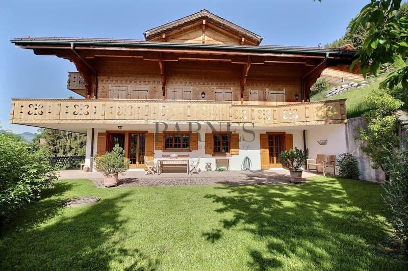 Splendide appartement meublé Grand jardin et terrasse, vue magnifique