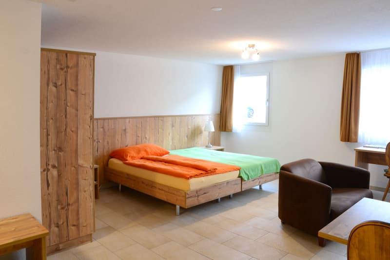 möblierte 1.5-Zimmerwohnung, TV-Gebühren, Internet, Strom, Reinigung usw. inklusive