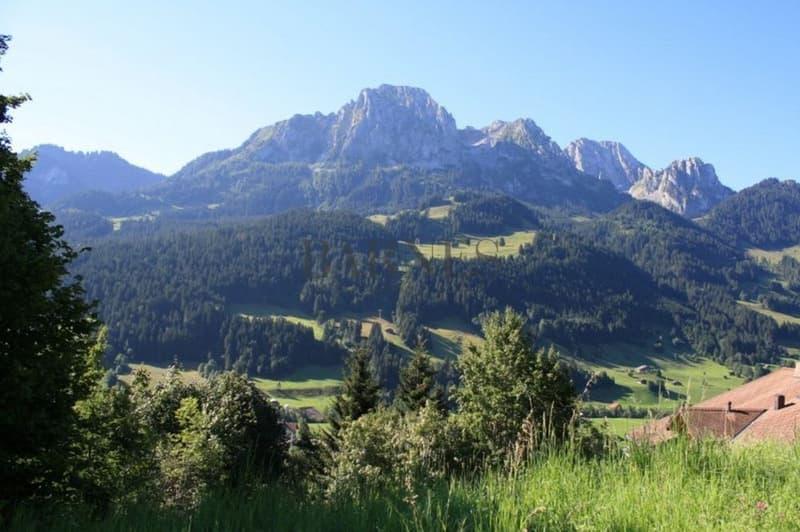 Superbe vue sur les montagnes