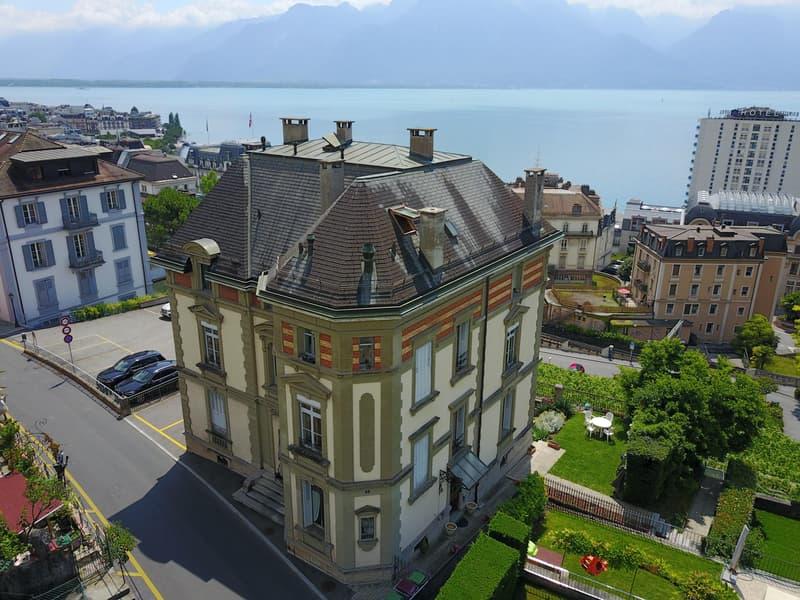 Superbe 4 pièces à Montreux avec vue sur le lac