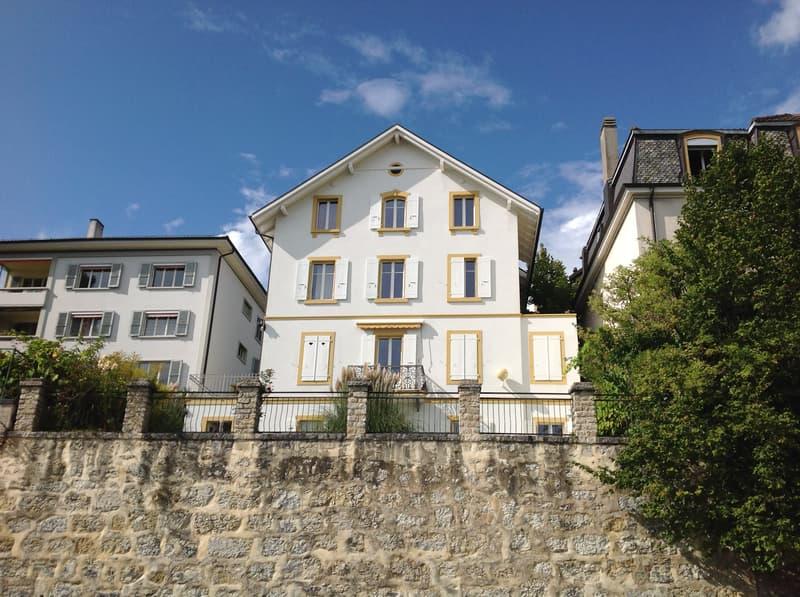 A vendre immeuble de 4 appartements avec vue