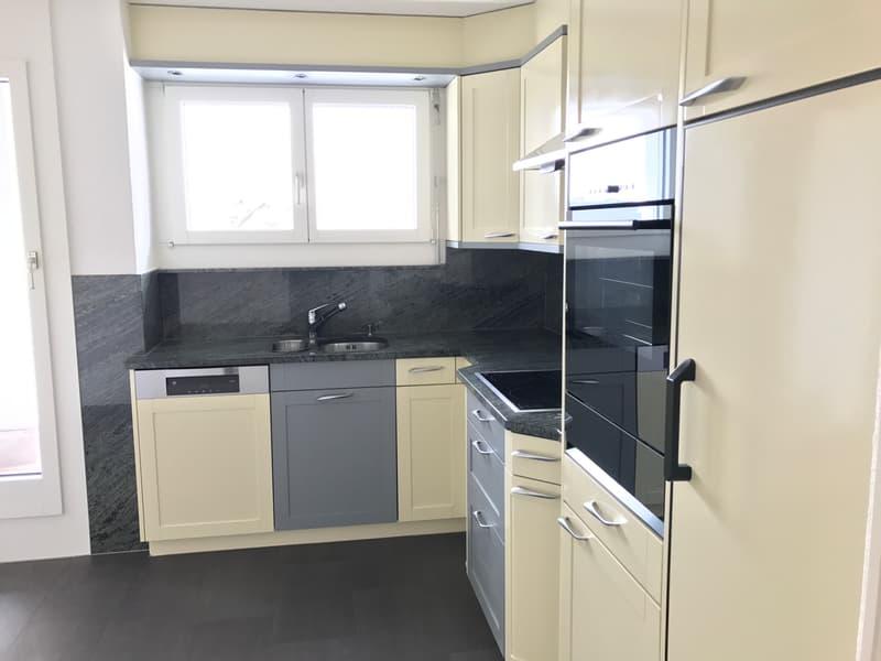 Sonnige Maisonettewohnung im steuergüntigen Freienbach zu vermieten (2)