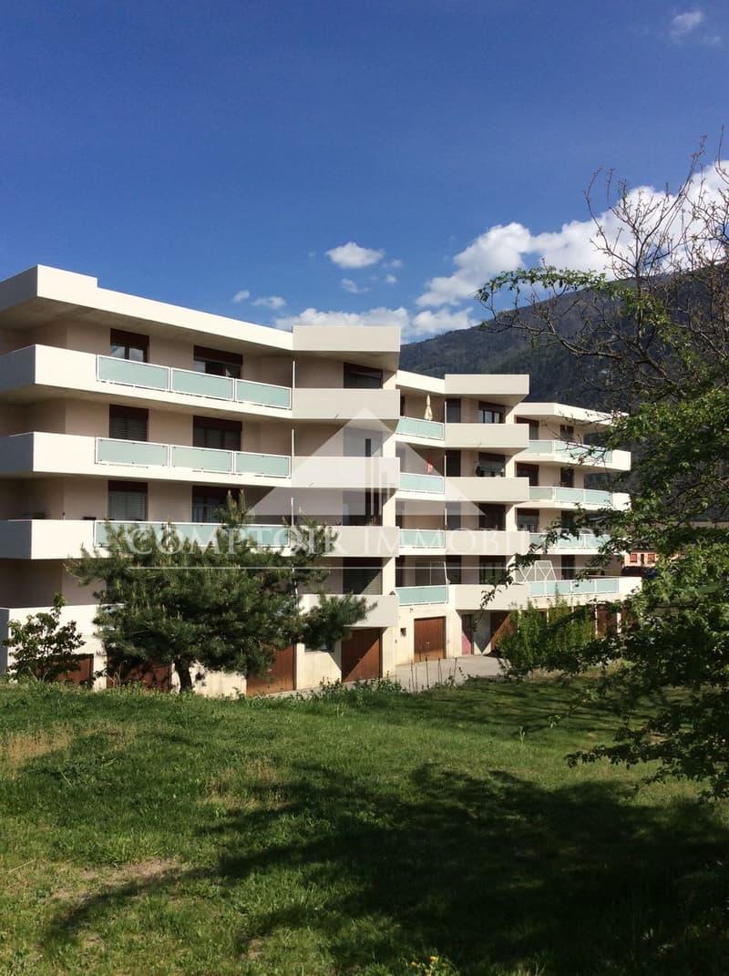Spacieux appartement rénové de 3.5 pièces dans un quartier calme, à proximité immédiate de la gare de St-Léonard (1)