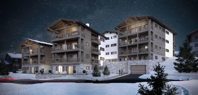 Casas Crestas - 3,5 Zimmer mit Balkon