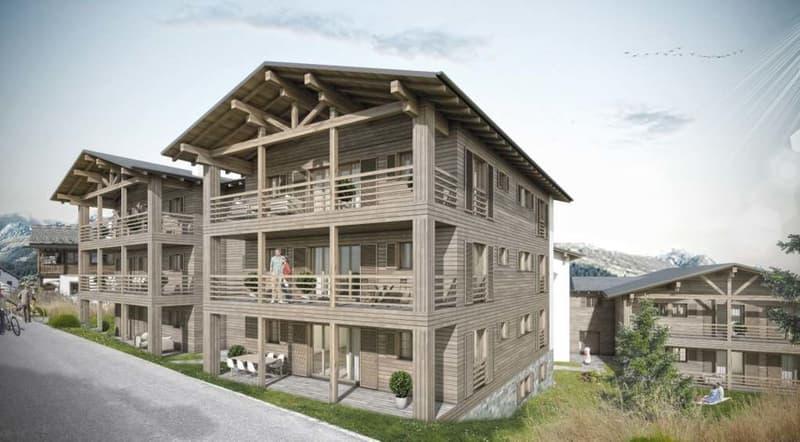 Casas Crestas - 2,5 Zimmer mit Balkon