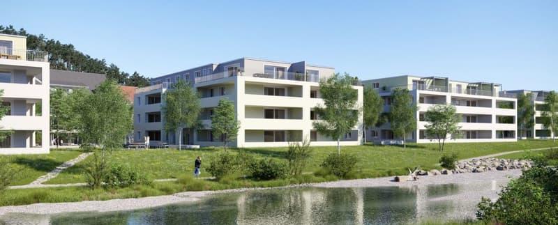 Erstvermietung Neubauwohnung, mit Eigentumsstandard, im Naherholungsgebiet der Töss