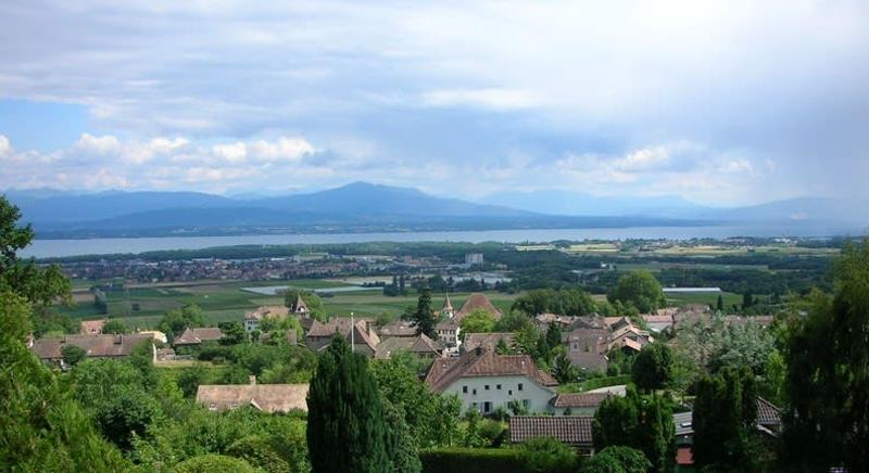 Magnifique villa avec vue sur le lac et les Alpes