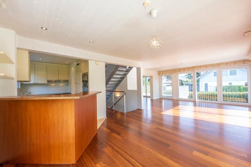 5½-Zimmer-Einfamilienhaus mit Studio - idyllisch gelegen mit privatem Seezugang in Wilbrunnen (3)