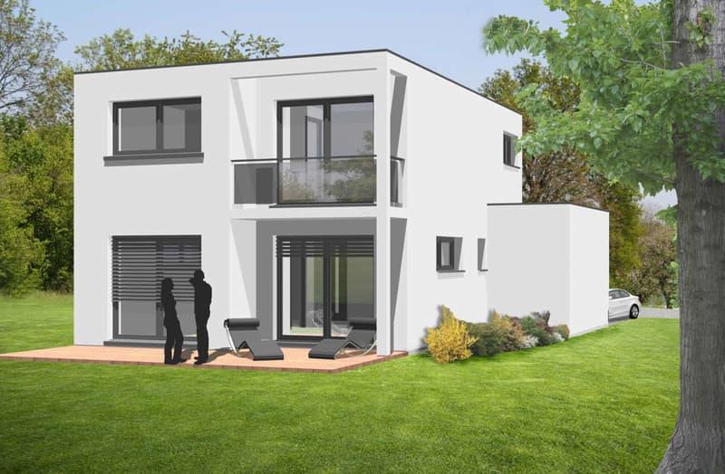 Modern Haus flatroof 104m² / Land 540m² (2)