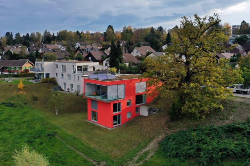 Topmodernes Einfamilienhaus mit unverbaubarer Aussicht