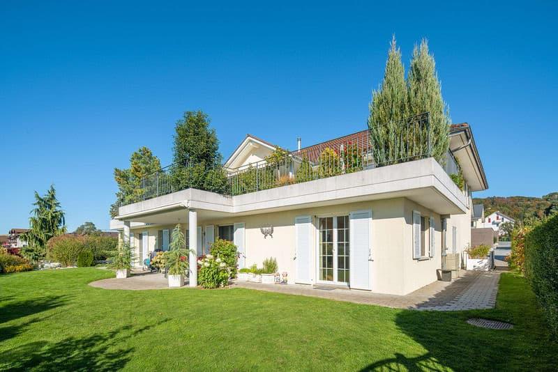 Einmalige Gartenwohnung mit mediterranem Stil