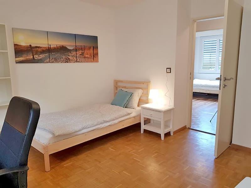 Möbliertes WG-Zimmer (109) mit Hispeed-Internet und Reinigung der allgemeinen Räume
