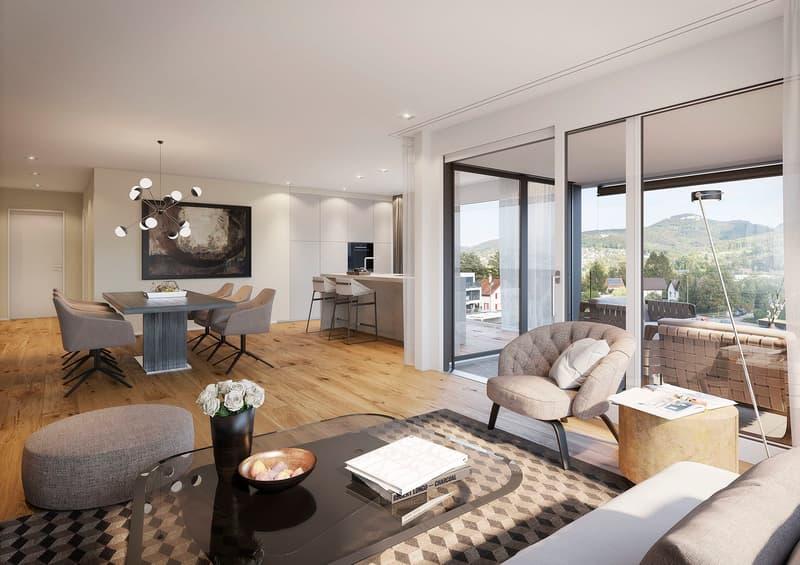 Wenn Architektur kein Zufall ist - Ein 4.5 Zimmer-Wohntraum auf 128 m2