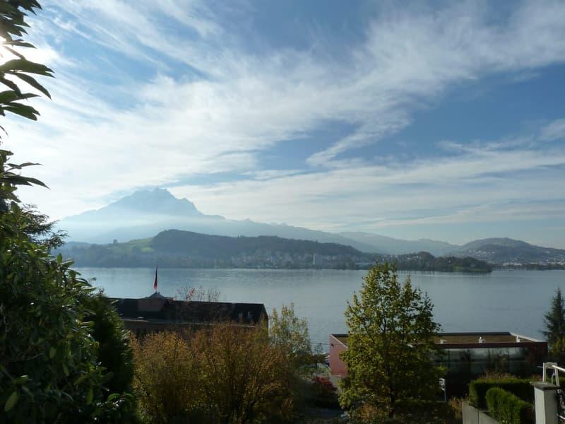 Romantisches 7 ½ Zimmer Chalet mit traumhafter Sicht auf den Vierwaldstättersee, Pilatus & Luzern