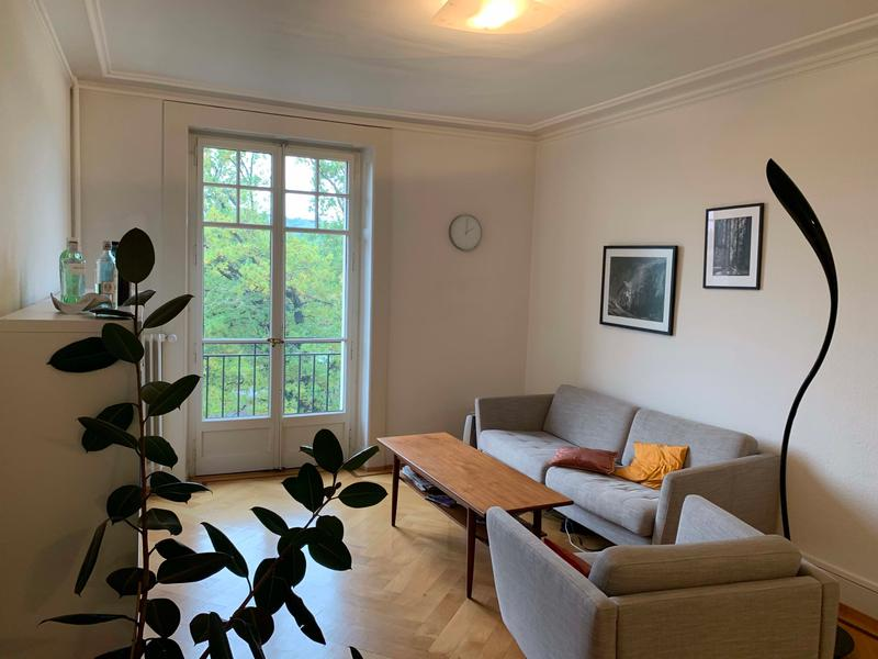 Appartement 4 pièces lumineux traversant, 90 m2 avec vue - quartier de la Servette