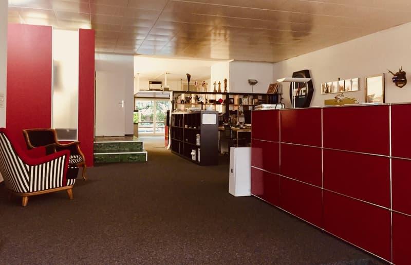 Cooles Atelier mit grossem Innenhof beim Kreuzplatz
