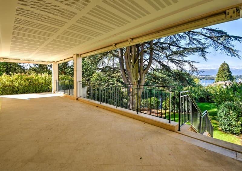 Cologny - Appartement haut standing avec terrasse et jardin