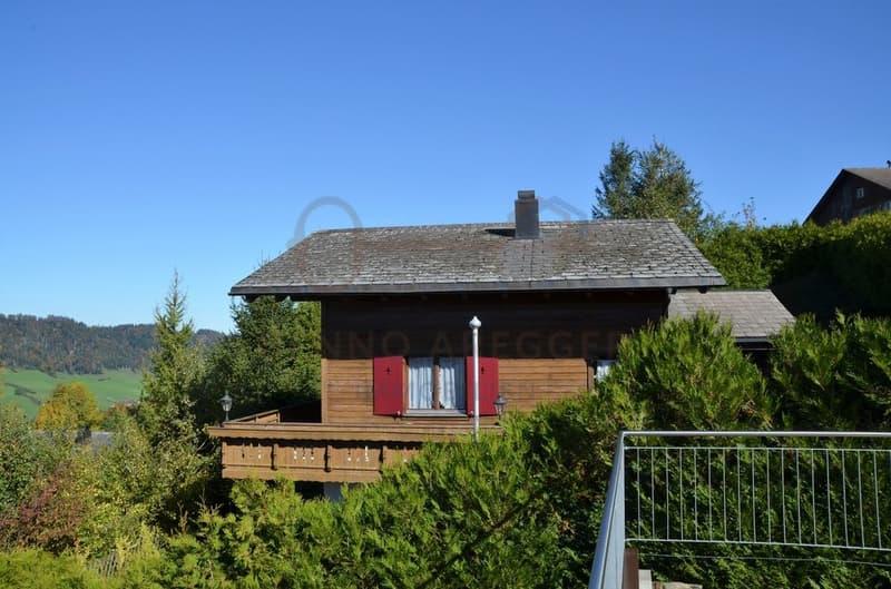 6-Zimmer-Einfamilienhaus (Ferienhaus) - Eindrückliche Fernsicht!