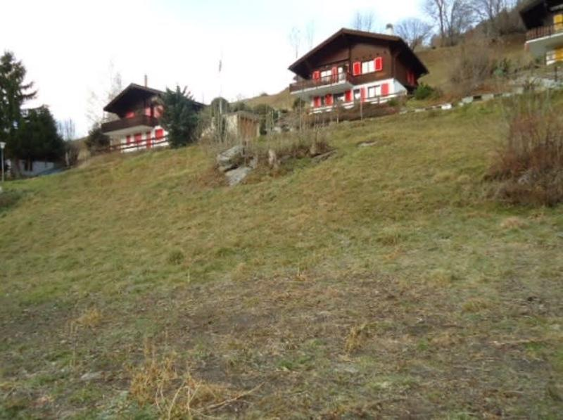 Grossflächiges Bauland in Toplage von Fiesch im Goms
