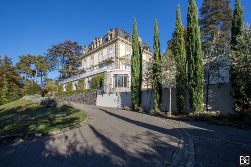Maison de Maître avec  magnifique vue lac et Jura