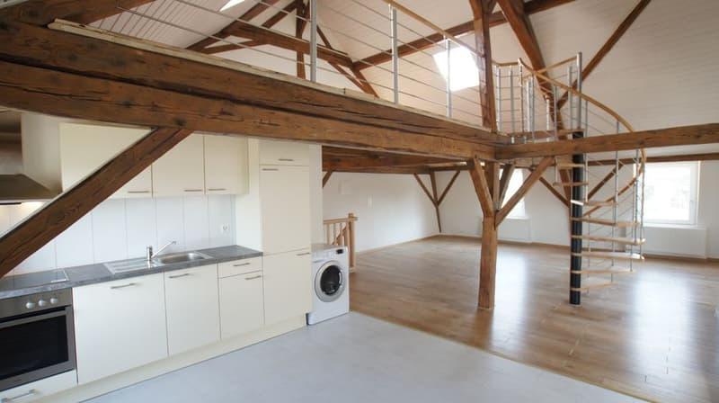 Appartement-loft 2 pces de 85 m2 à Corcelles-près-Payerne / VD
