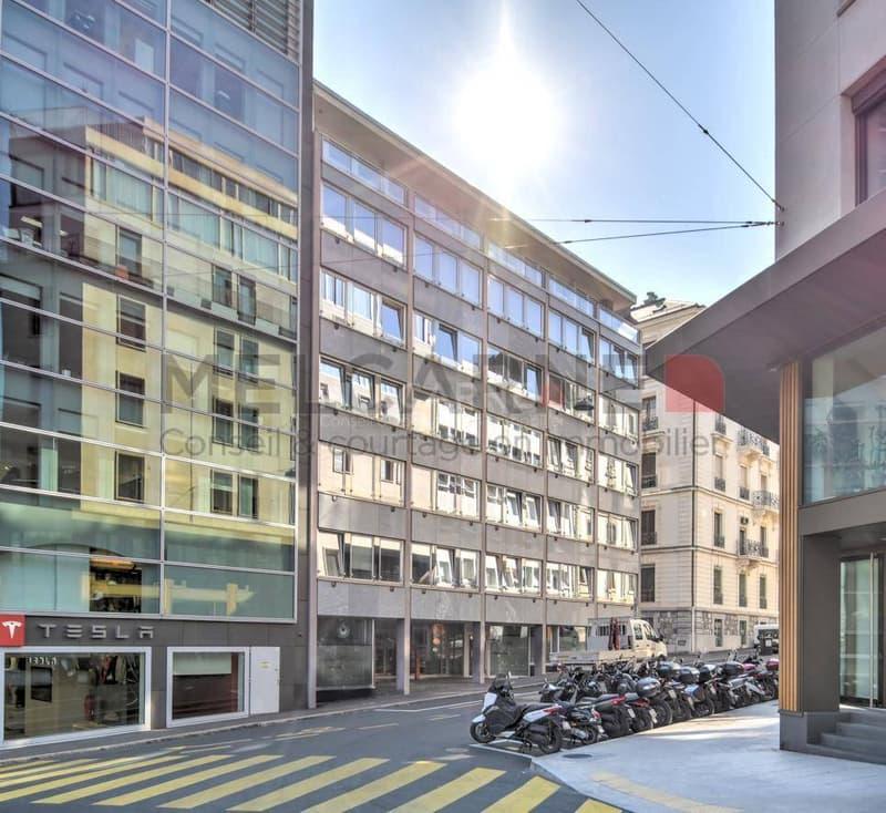 Hypercentre - Rive - Immeuble de 1'779 m2