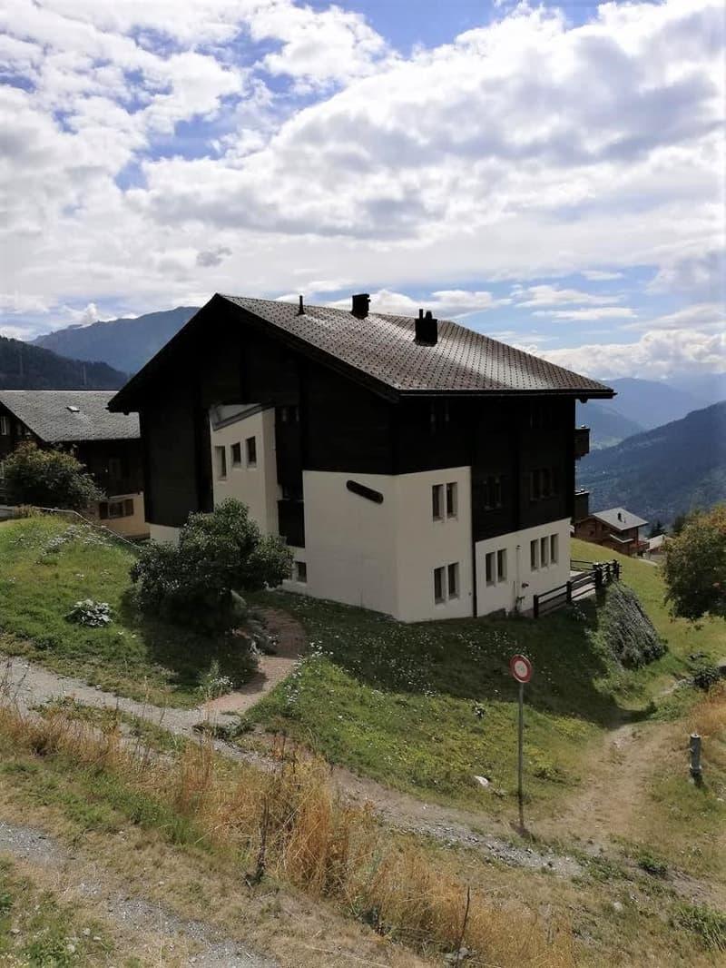 Wohnung mit atemberaubender Aussicht im sonnigen Bellwald
