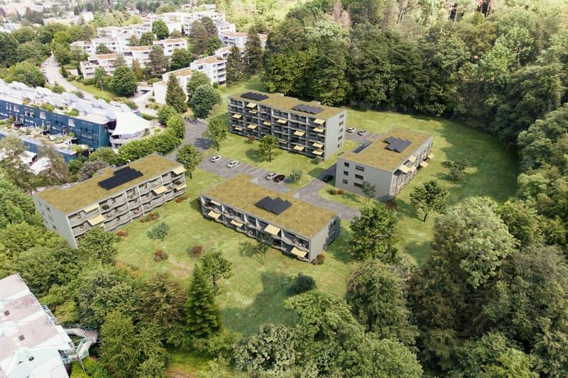 Aussenvisualisierung Waldpark Adliswil