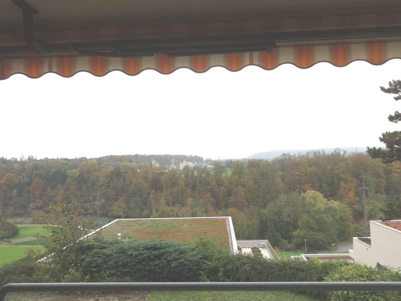 Schöne, zentral gelegene 3-Zimmerwohnung mit Aussicht