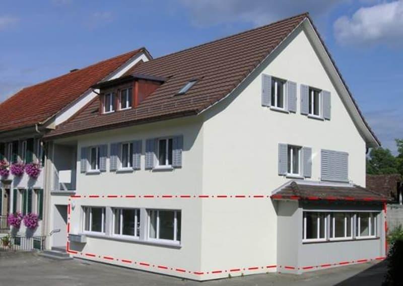 3.5-Zimmer-Wohnung im EG mit Sitzplatz und Hofbereich zur alleinigen Nutzung