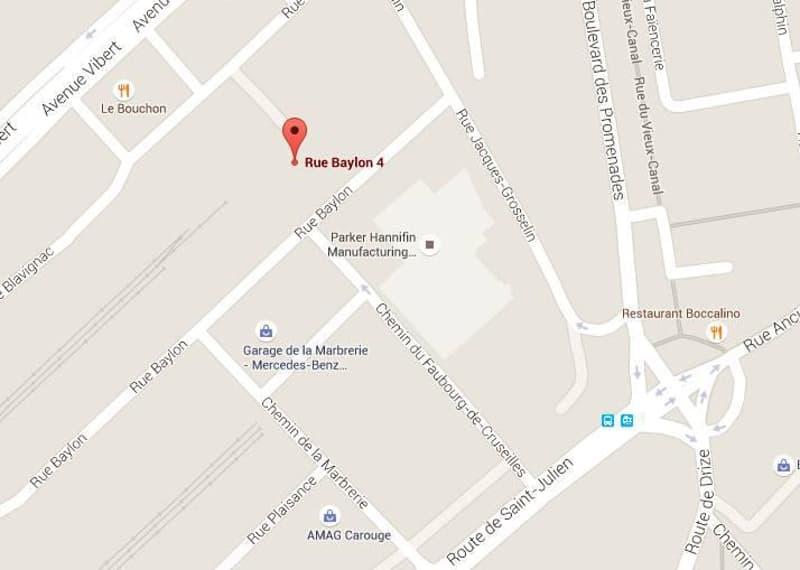 Parkings extérieurs - rue Baylon 4