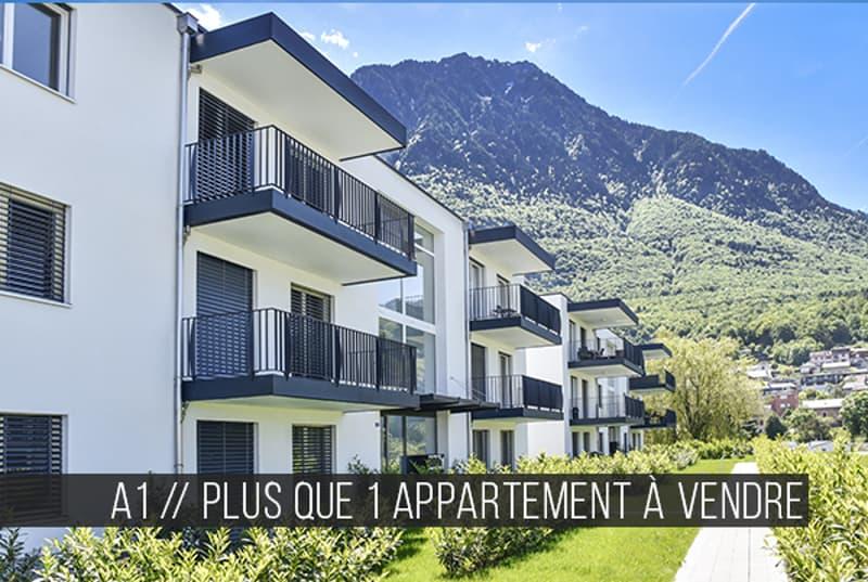 Superbe appartement à deux pas du Lac Léman // Lot A1-102 // Les Jardins du Lac