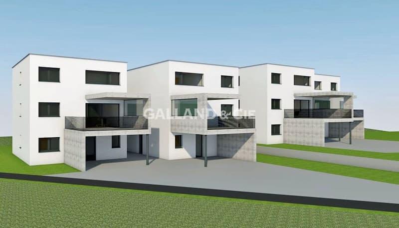 Innovant - Villas de 6.5 pièces en construction