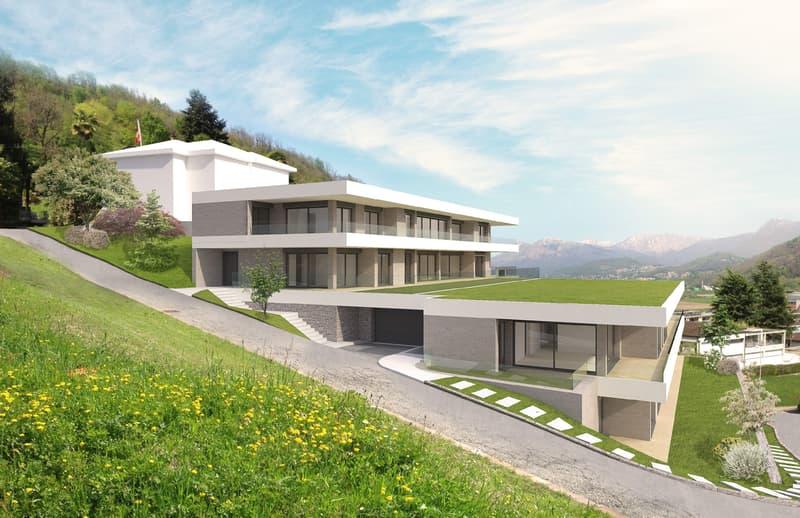 Vendesi terreno edificabile con licenza di costruzione approvata ad AGNO