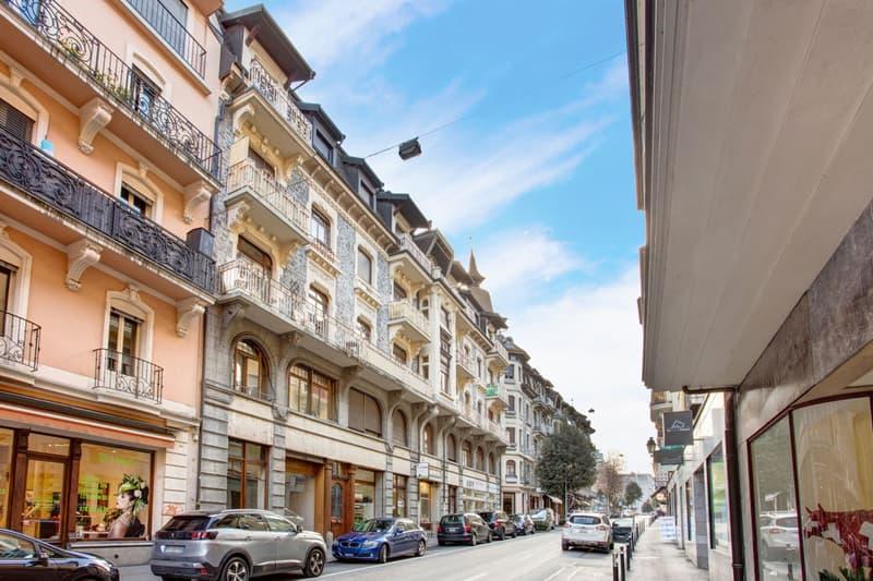 Arcade spacieuse au centre-ville de Montreux