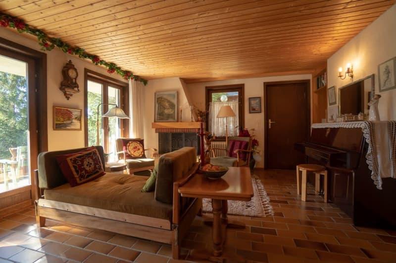 Gryon Immo vous propose un spacieux 2 pièces au rez-de-chaussée avec belle terrasse sud (2)