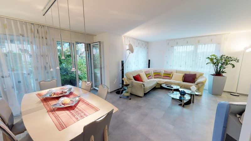 Moderne 4.5 Zimmer Gartenwohnung an guter Lage