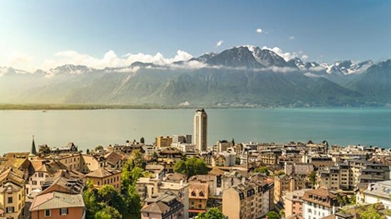 A vendre immeuble au centre ville de Montreux (VD-CH)